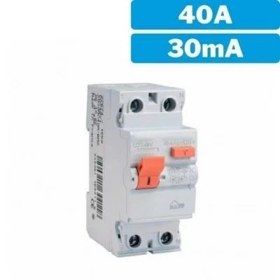 Interruptor diferencial 2P 40A - 30mA
