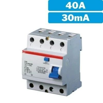 Interruptor diferencial 4P 40A - 30mA