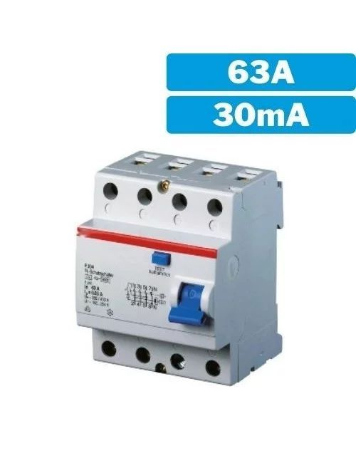 Interruptor diferencial 4P...