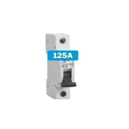 Interruptor magnetotérmico 125A 1 polo