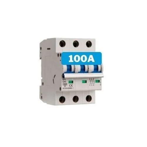 Interruptor magnetotérmico 100A 3 polos