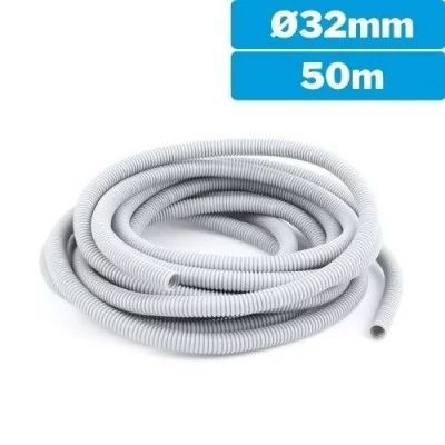 Tubo corrugado flexible 32mm 50m
