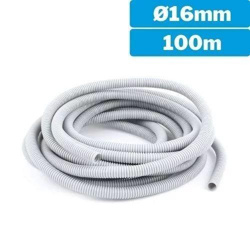 Tubo corrugado flexible 16mm 100m