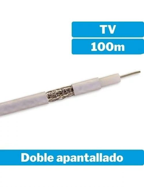 Cable coaxial doble...