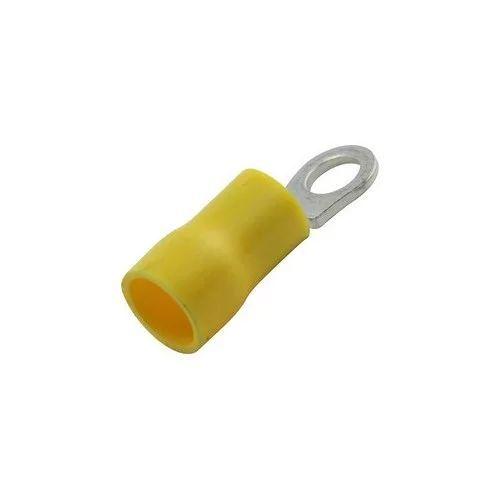 Terminal Faston redondo amarillo 4-6mm 4,3mm