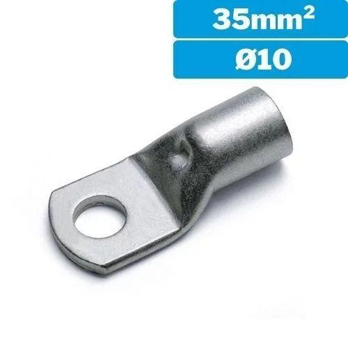 Terminal redondo sin aislar M10 35mm2