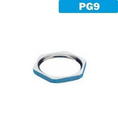 Contratuerca latón níquel PG9