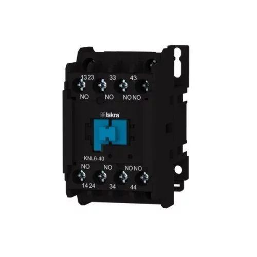 Contactor auxiliar 24V 4NO 4A Iskra KNL6-40