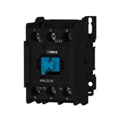 Contactor tripolar 22A 230V Iskra KNL22-00