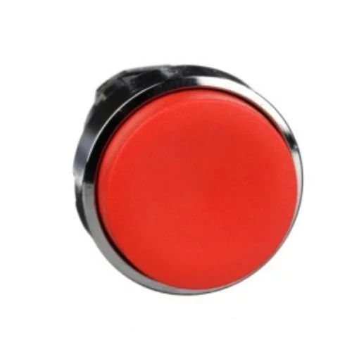 Cabeza de pulsador rasante amarillo 22mm