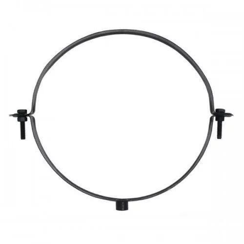 Abrazadera M8 de acero negro vitrificado Serie lisa