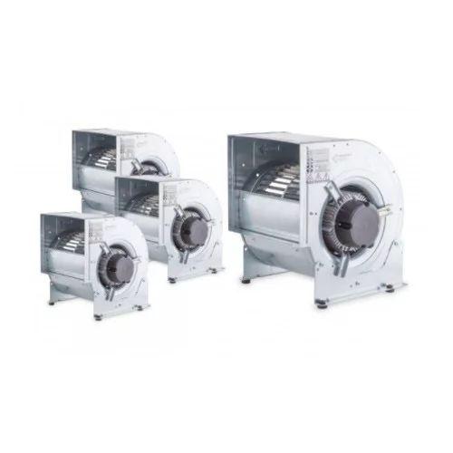 Ventiladores centrífugos de doble aspiración con motor directo de 3 velocidades con álabes hacia adelante - Monofásico