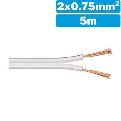 Cable de audio 2x0.75mm²...